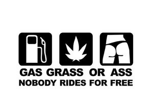 Sticker - Gas Grass Ass