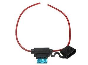 Kabel- kabel met zekeringhouder