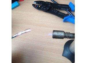 Kabel connector heat shrink rood (0,5-1,5mm)