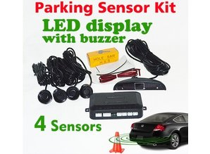 Parkeerhulp - sensoren kit zwart