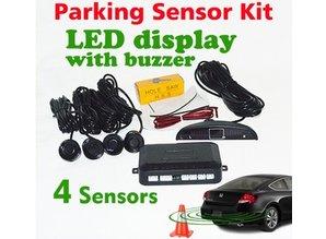 Parkeerhulp - sensoren kit zilver