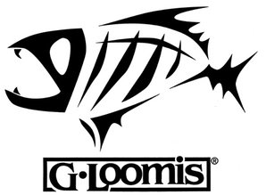Sticker - skelet vis zwart