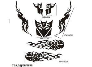 Sticker - Transformers kit zwart