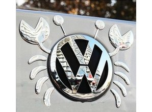 Sticker - VW logo krab deco 3D
