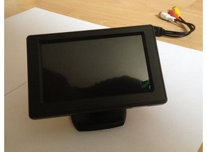 "Parkeerhulp - monitor 4.3"" - model 2"