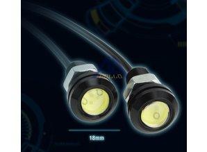 Dagrijverlichting LED blauw - Apollo