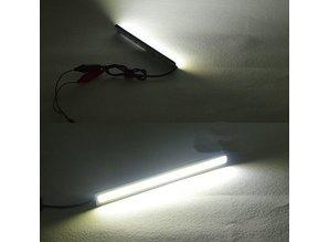 Dagrijverlichting LED blauw - strip set
