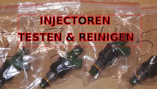 Injectoren testen en reinigen