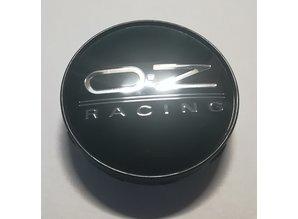 wielnaafdop OZ racing zwart/zilver 60mm set