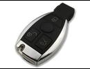 Mercedes sleutel 3 knoppen