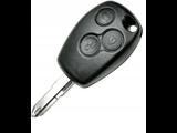 Opel Renault sleutel met afstandsbediening
