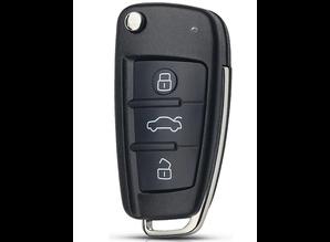 Audi autosleutel 3 knoppen