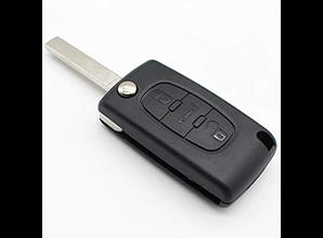 Peugeot sleutel met afstandsbediening