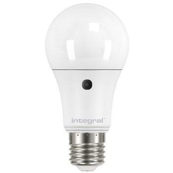 INTEGRAL Ledbulb 9.5-60W E27 827 (2700K) Automatic light-dark sensor