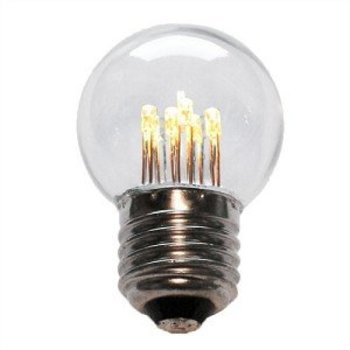 Tronix LED kogellamp 1W E27 230V IP44 met glazen bol helder