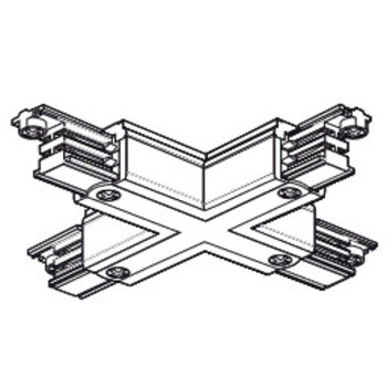 Nordic Aluminium X connector RAIL Global trac pro Nordic Alu XTS-38