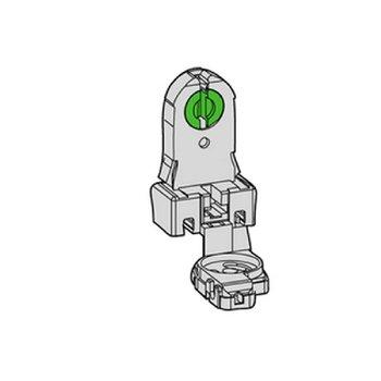 Huppertz TL-D lamp base + starter holder (screw mounting)