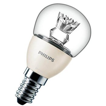 Philips MASTER LED Luster D 3.5-25W E14 827 P48 Clear