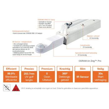 Osram AirZing Pro UV-C G13 36W (136cm)