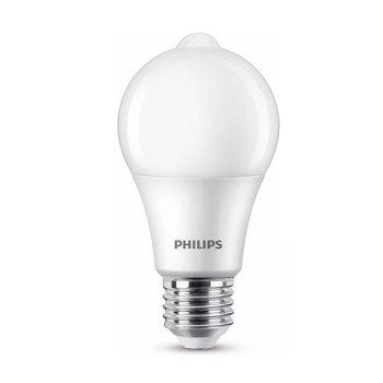 Philips LEDlamp met bewegingsensor E27 8W 2700K