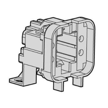 Huppertz G24D-2 fitting for Philips PL-C Osram Dulux D 18W and 18W 2 Pin