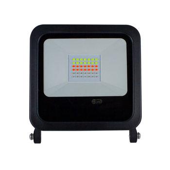 INTEGRAL LED Floodlight 30W RGB 1200lm IP65 Black