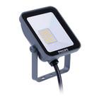 Philips Lampe de chantier LED grise 10W 3000K 1000lm IP65