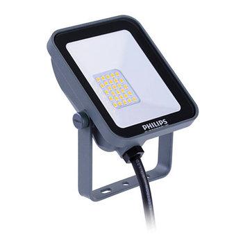 Philips LED bouwlamp grijs 10W 3000K 1000lm IP65