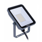 Philips LED bouwlamp grijs 20W 3000K 2000lm IP65