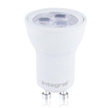 INTEGRAL MR11 - GU10 base LED 3W (30w) 4000K Spot 240V, matt white