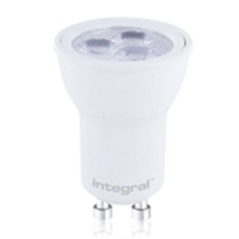 INTEGRAL MR11 - GU10 basis LED 3W (30w) 4000K Spot 240V, mat wit