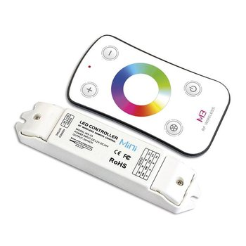INTEGRAL RGB Colour Changing Receiver (remote control with swipe controls) 12-24VDC, 108W (12V) and 216W (24V)