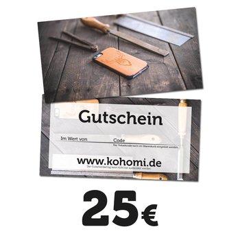 25€ Geschenkgutschein