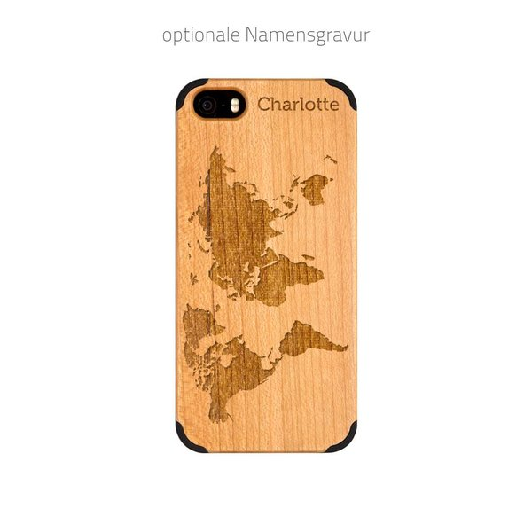 iPhone 5 - Worldmap