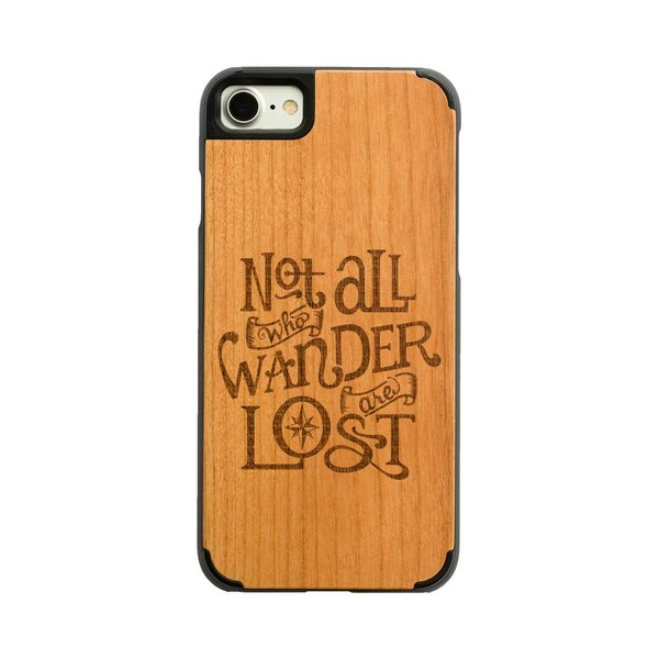 iPhone X and XS - Not all who wander are lost
