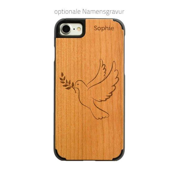 iPhone X - Friedenstaube