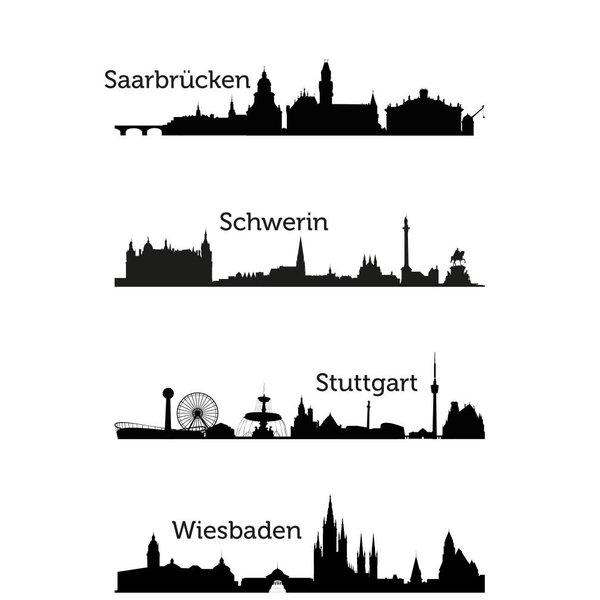 iPhone 8 - Deutsche Städte