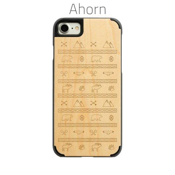 iPhone 8 - Berge und Bär