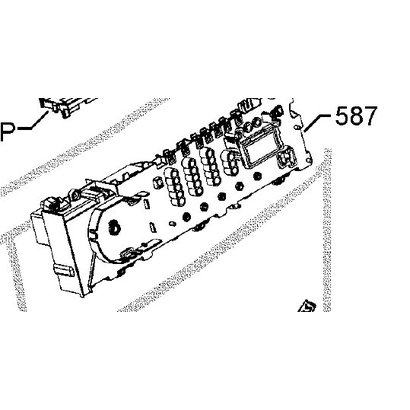 91452450200 module wasmachine aeg