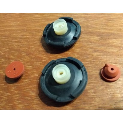 lagerset silicone 40 mm ventilator accumulatie