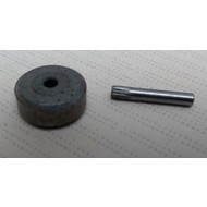 Looprol metaal slede berkel snijmachine