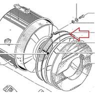 Kuipdichting wasmachine aeg 8996451425707
