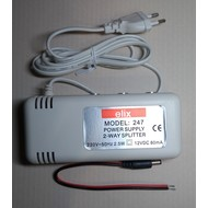 Power supply 2-way splitter elix 247