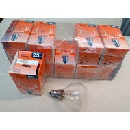 lamp 25watt E14 helder
