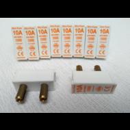 Steekzekering Vynckier minifuse 10A 1.5mm