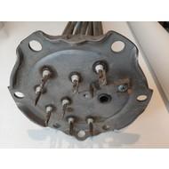 Verwarmingselement boiler ariston  2x2kw  2x4kw 220 volt  inox