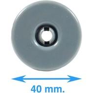 Wiel Onderkorf Vaatwasser - Wieltjes - Korfwiel - Korf - 8 stuks - 40mm - Origineel 50286965004 - AEG - Electrolux - Zanussi - Ikea