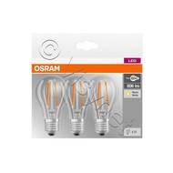 OSRAM LED RETROFIT CLASSIC A 60 6.5W/40 220-240V FIL E27 BOX OF 3 PCS