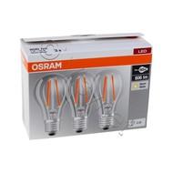 OSRAM LED RETROFIT CLASSIC A 60 7W/827 220-240V FIL E27 BOX OF 3 PCS
