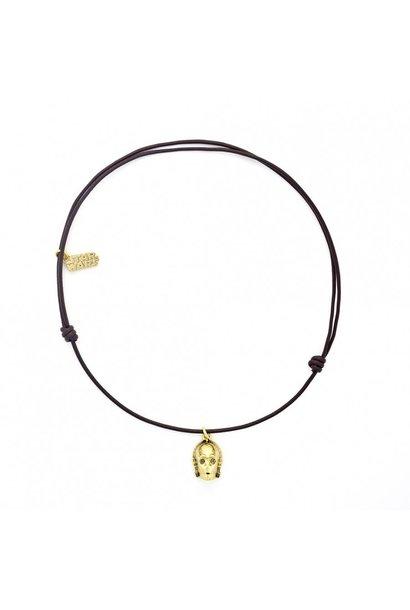 Halskette C3PO Leder